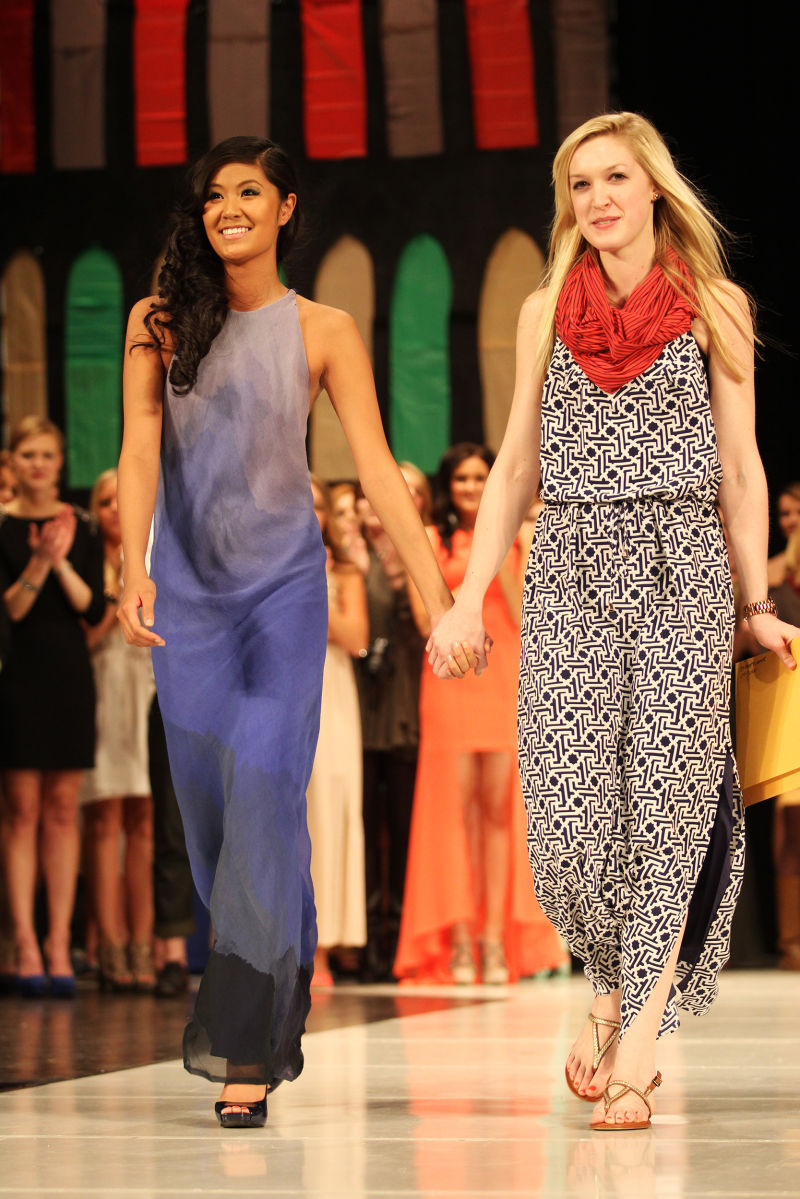 Shell Inspired Evening Dress Wins Best In 2013 Fashion Show Style