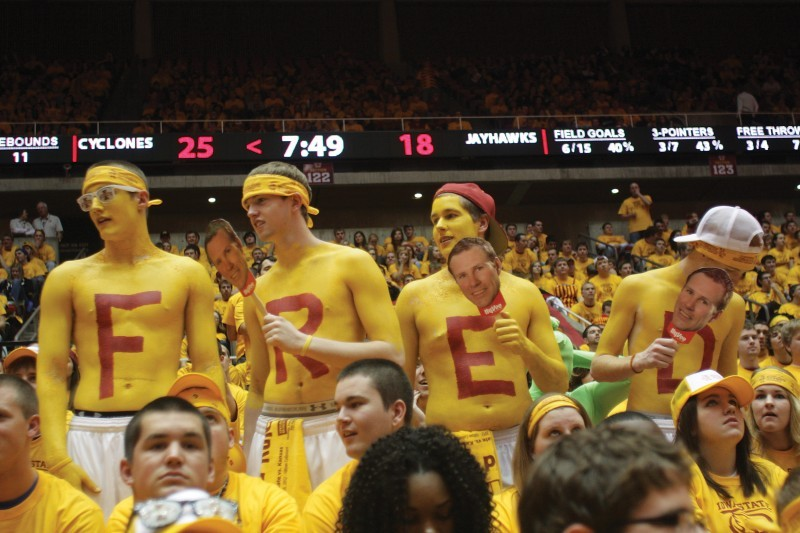 Iowa State Men's Basketball v. Kansas--Crowd