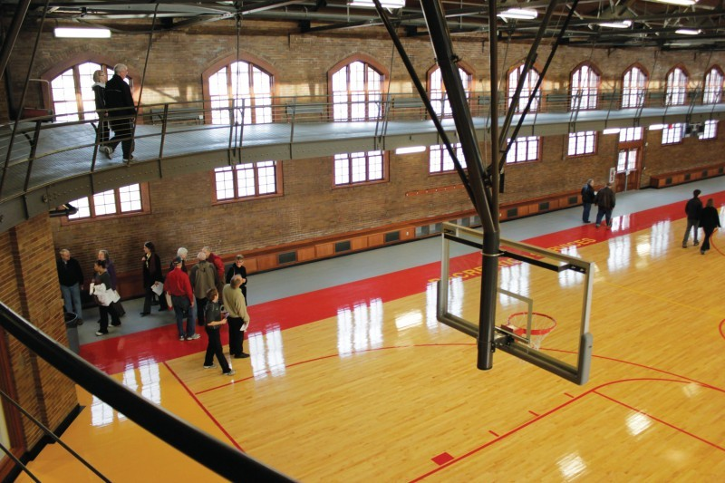 Recreation services unveils state gym at open house iowa