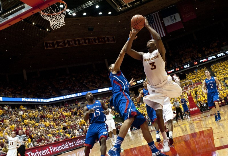 Men's Basketball vs. Kansas -  Melvin Ejim