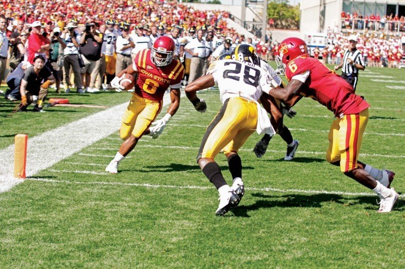Iowa vs. Iowa State - James White