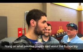 ISU men's basketball talks about upcoming trip to Spain