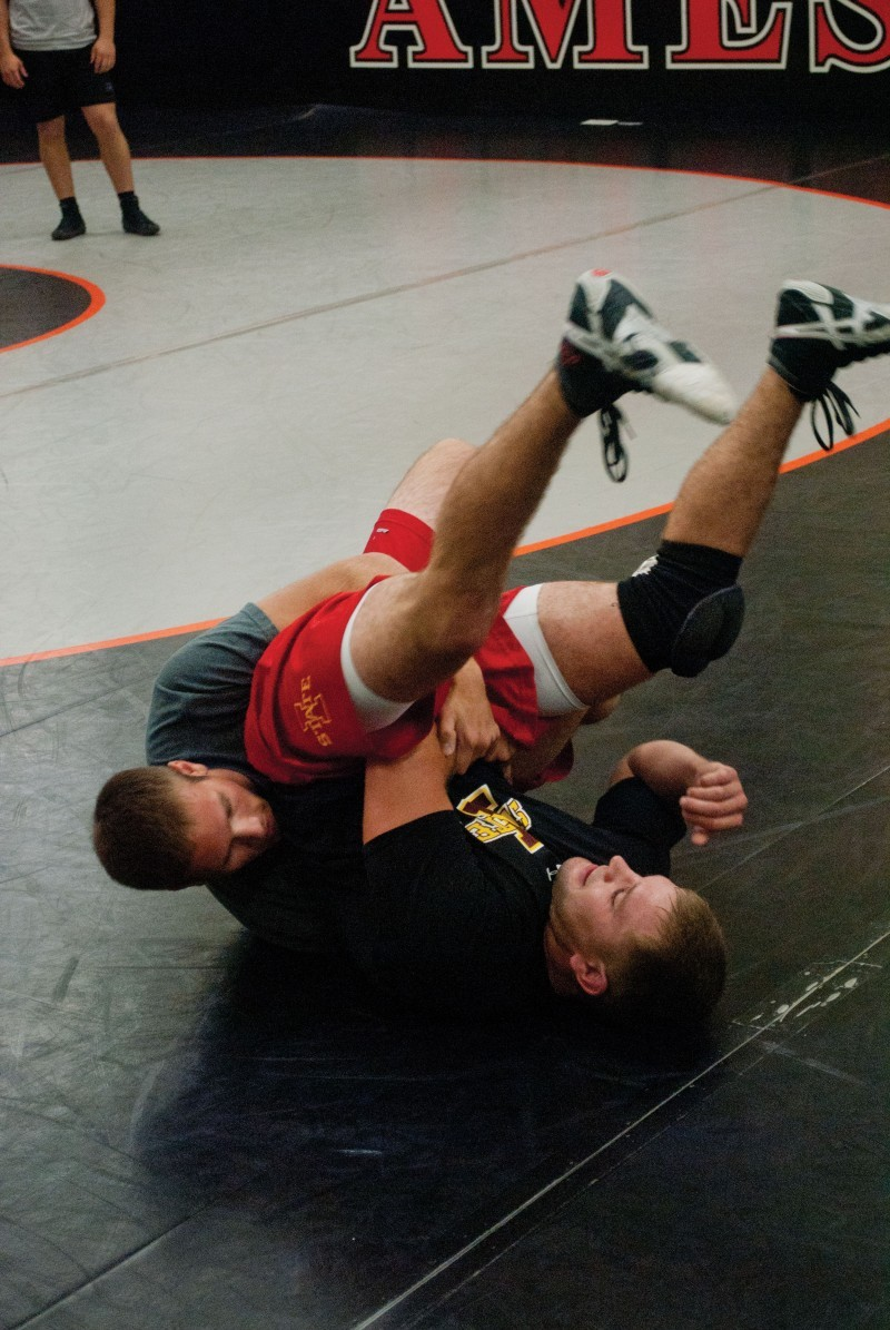 wrestling and high school practices Kierstien bush got up in front of the other 23 bonneville high wrestlers at practice  and demonstrated a circling move the team would practice.