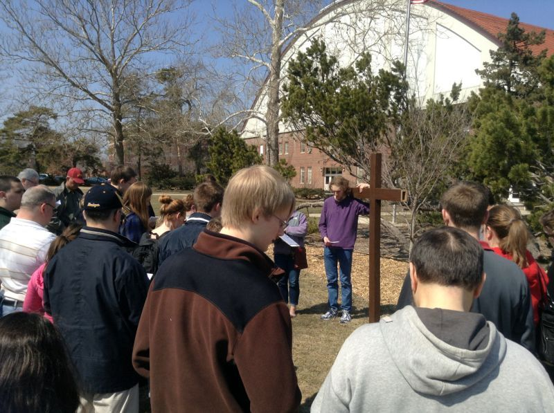 St. Thomas Church celebrates Good Friday with stations of the cross