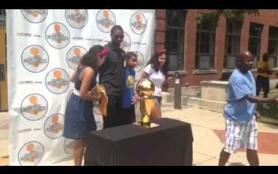 Video: Harrison Barnes returns to Ames