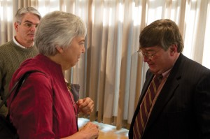 Political Analyst Charlie Cook - Mr. Cook Mingles After Lecture
