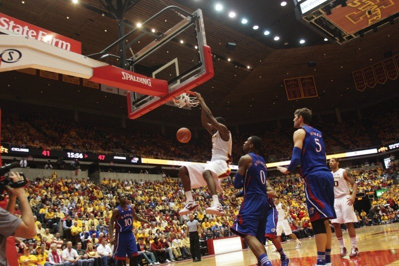Iowa State Men's Basketball v. Kansas--Melvin Ejim