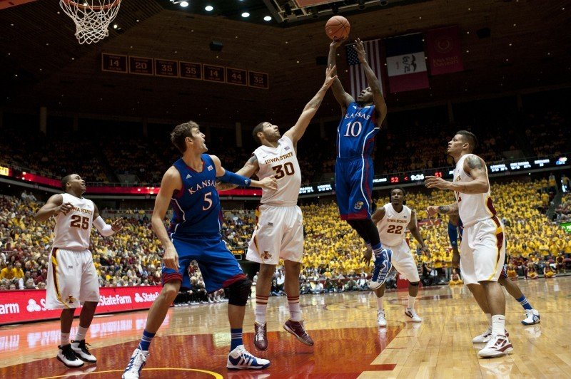 Men's Basketball vs. Kansas - Royce White