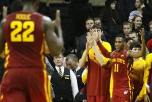 No. 14 Iowa State defeats Iowa on road