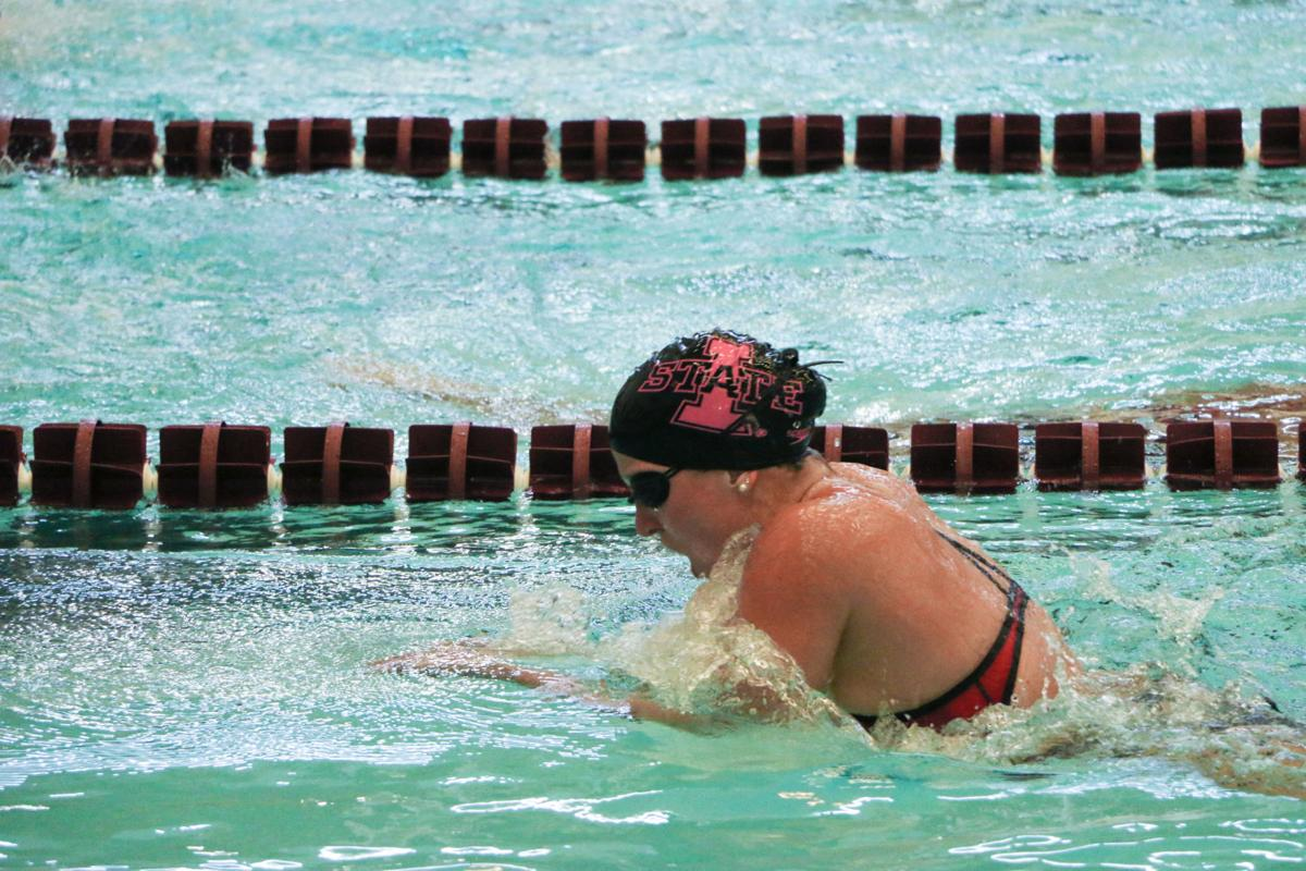 Photos Iowa State Swim Team Falls To Nebraska 195 101 Multimedia