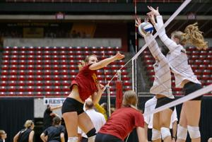 ISU volleyball competes in annual spring tournament