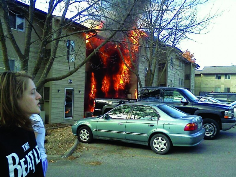 Campus Ave Fire