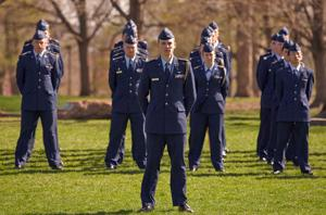 ROTC Changing of Command