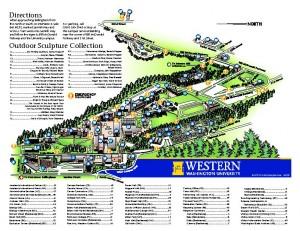 Western Washington University Campus Map  International