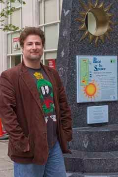 Nick Sagan at the Sun