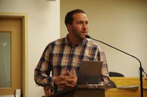 <p>Todd Fox emphasixed the fact that the Varna project would be a zero-net solar powered development.</p>