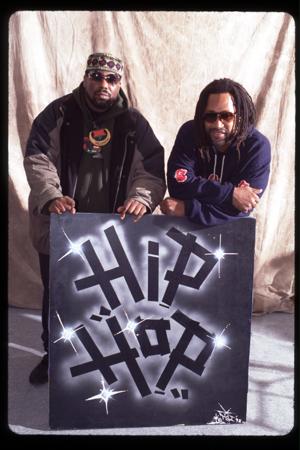 Afrika Bambaataa and DJ Kool Herc