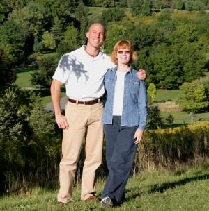 Kathy Gilleran and Aeryn Gillern