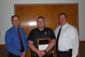 Scott Robison receives Chaplain's Excellence Award