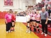 Volley for a Cure nets donation for screening