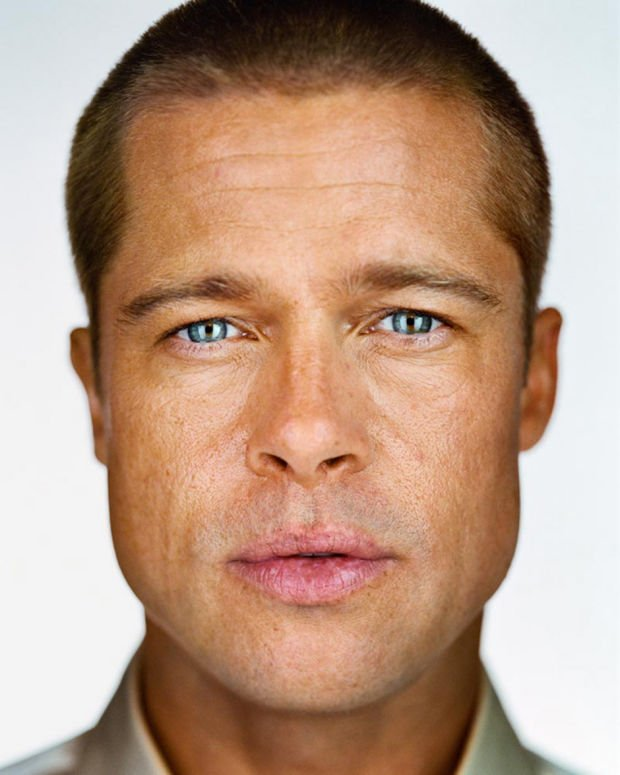 Tarble art center exhibits close up portraits by martin schoeller