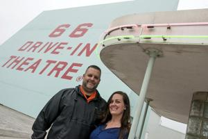 Historic 66 Drive-In Theatre in Carthage combines American love of cars, movies