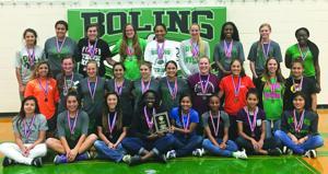 BHS girls third in district track