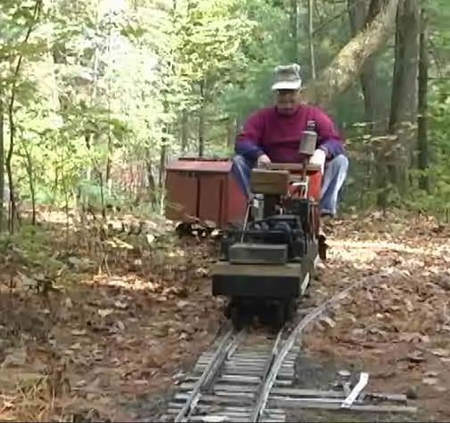 backyard railroad journal inquirer video