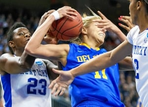 NCAA Delaware Kentucky Basketball