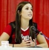 NU Volleyball Media Day, 8.10.12