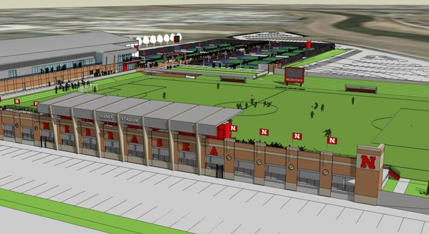 Nebraska unveils names for new soccer, tennis facilities