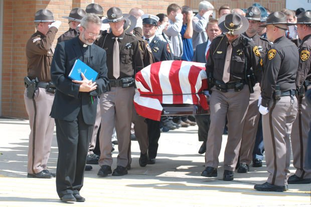 Hundreds Pay Respects To Butler County Sheriff Mark Hecker
