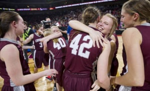 Photos: State girls hoops, Crofton vs. Hastings St. Cecilia, 3.8.14