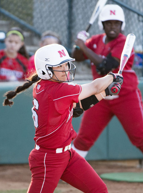 Softball: Husker hitters meeting coach's challenge