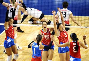 Photos: Canada vs. Puerto Rico, NORCECA volleyball
