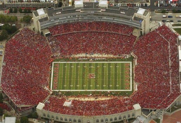 Stadium Aerial View Aerial of Memorial Stadium