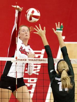 Photos: Michigan State vs. Nebraska volleyball