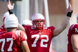 Photos: Nebraska football practice, 8.28.12