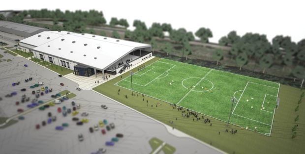 Private sports fields could alter city 39 s plans politics for Sports complex planning design