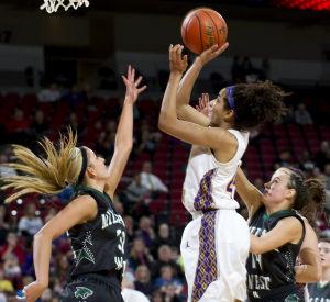 Photos: State girls hoops, Millard West vs. Bellevue West, 3.7.14