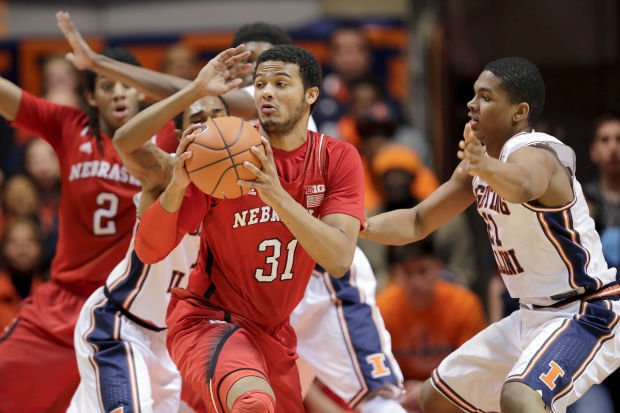 NU men: Huskers fall at Illinois 69-57
