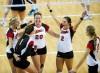 NU-PSU Volleyball 10.28.2012