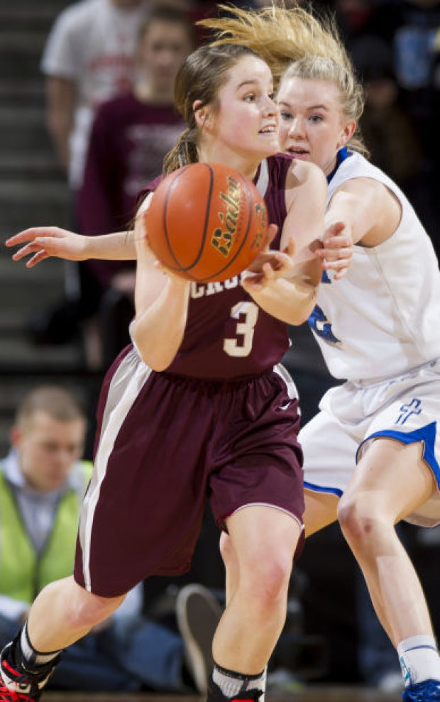 Class C-2 state girls basketball: Bench sparks Crofton to a three-peat