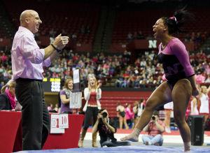 Photos: Iowa vs. NU women's gymnastics, 2.7.15