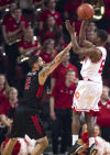 Photos: Nebraska stops skid with rout of Rutgers
