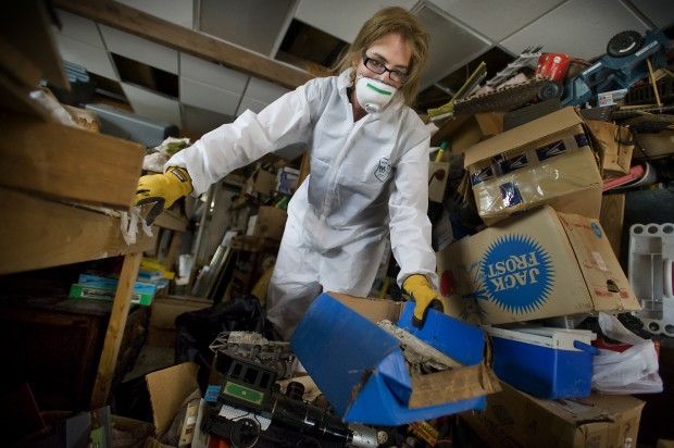 Making a living cleaning up after death 911 news for Cleaning out house after death