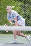 Girls tennis: Garcia enjoying high school coaching