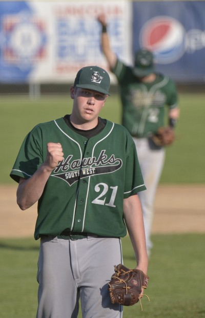 Double Plays Help Southwest Turn Back Lne Baseball