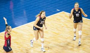 Photos: USA vs. Dominican Republic, NORCECA volleyball