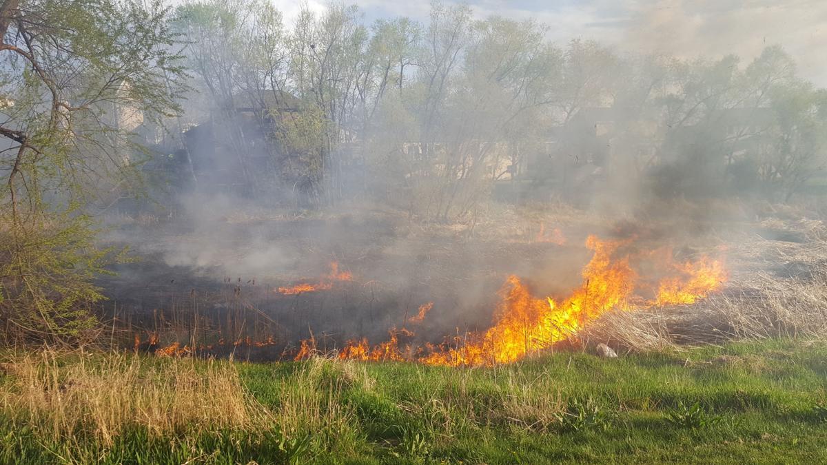 Teenagers Start Grass Fire After Lighting Off Fireworks In